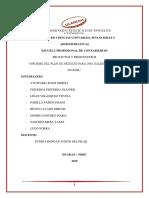proyecto y presupuesto Actividad N° 09