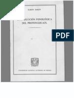 (Colección Lingüística Indígena 2) Karen Dakin - La evolución fonológica del protonáhuatl-Instituto de Investigaciones Filológicas (1982).pdf
