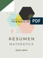 Resumen Matemática - PSU Libros .pdf