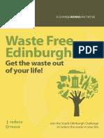 Waste Free Edinburgh Changeworks Booklet
