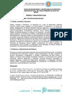 SECRETARIOS - PRIMARIO DE ADULTOS - 2020
