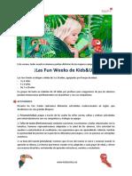 K&U Villaverde - Fun Weeks - Campamentos verano