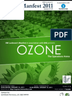 Ozone Event Guidelines