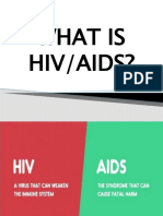 HIV AND AIDS AND SUBSTANCE USE AND ABUSE