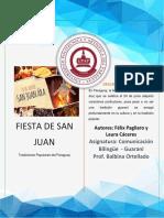 La Fiesta de San Juan en El Paraguay Félix Pagliaro