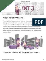 Architect Parents _ 16Personalities