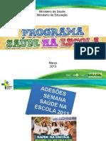 Adesão PSE 2013