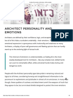 Architect Personality and Emotions _ 16Personalities