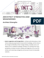Architect Strengths and Weaknesses _ 16Personalities