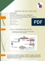 CHARLA DE REFRIGERACION