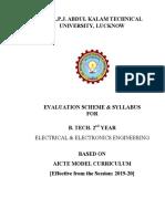 Aktu electrical system