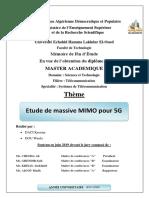 Etude de massive MIMO pour 5G