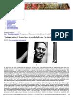 """""""La importancia de Gramsci para el estudio de la raza y la etnicidad""""_ Stuart Hall _"""