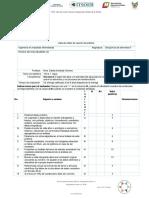 lista de cotejo de reporte de laboratorio 2020 U-1