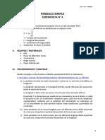 pendulo , informe 4