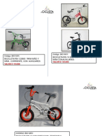 Precios de Bicicletas Mayo 21