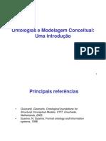 Aula de modelagem conceitual e ontologias