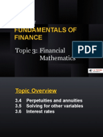 FOF Topic 3 Financial Mathematics