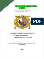 INFORME DEL ENFOQUE CLASICO Y HUMANISTA DE LA ADMINISTRACION SECCION 3.docx