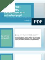 Parte+II Crecer+en+La+Caridad+Conyugal