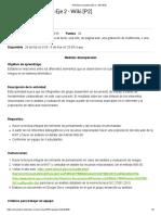 Actividad Evaluativa Eje 2 - Wiki [P2]