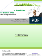 Chemistry and Qualities of Oil