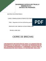 DIAGNOSTICO DE BRECHAS