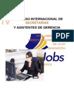 CONGRESO INTERNACIONAL DE SECRETARIAS