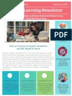 Parent Newsletter (1)