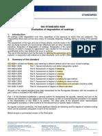 ISO 4628 Degredation Inspection