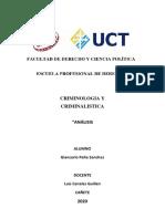 CASO MAYORDOMO - CRIMINOLOGIA