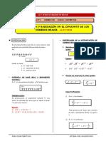 3er. Año - ARIT -Guía 5 - Potenciación y Radicación de numer