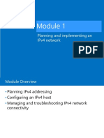 20741B_01-Planning and implementing an IPv4 network