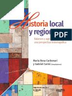 Historia local y regional