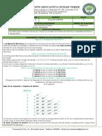 Guia 4-2T Química  8°  2020