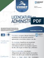 Clasificación de las Cuentas de Activo