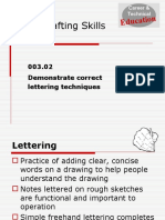 Unit-C-Basic-Drafting-Skills-Lettering