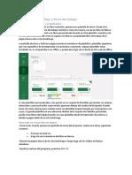 1 - Crear hojas de trabajo y libros de trabajo