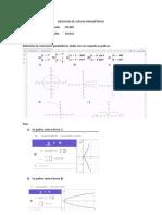 Ejercicio de Curvas Paramétricas