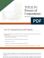 Sec 35-37 Powers of Corporation