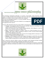 philosophy, goals and objectives