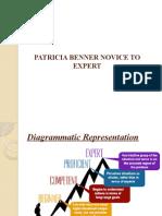 PATRICIA BENNER NOVICE TO EXPERT
