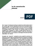 Ecología, medios de comunicación y educación ambiental