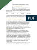 Los cotidiáfonos en la educación infantil (Judith A.)