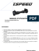 user manual H850 Cross_FR_V5