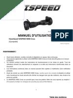 user manual H850 Cross_FR_V5