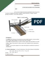 etude des escalier a imprimé
