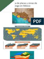 Tectónica de placas y zonas de riesgo en México
