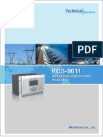 Data sheet - PCS-9611 Feeder Relay