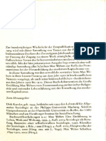 WEBER Protestantische Ethik und Kapitalismus (Auszug)